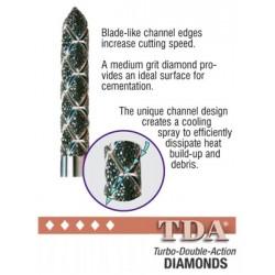 Turbo Double Action Diamond Burs (TDA)