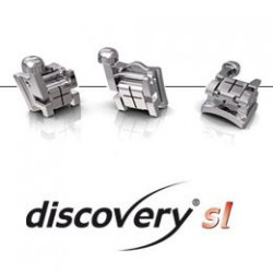 discovery® sl Self-ligating Brackets .022 Roth